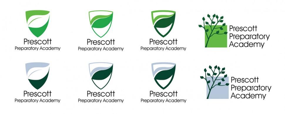 CoryVanNote-Portfolio-2014-PrescottPrep-LogoConcepts